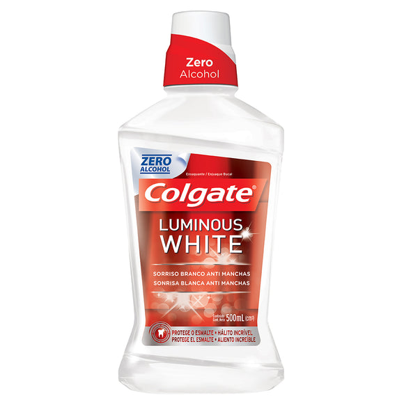 Antisséptico Bucal COLGATE Luminous White XD Branqueador 500ml