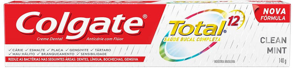 Creme dental COLGATE Total 12 Clean Mint 140g