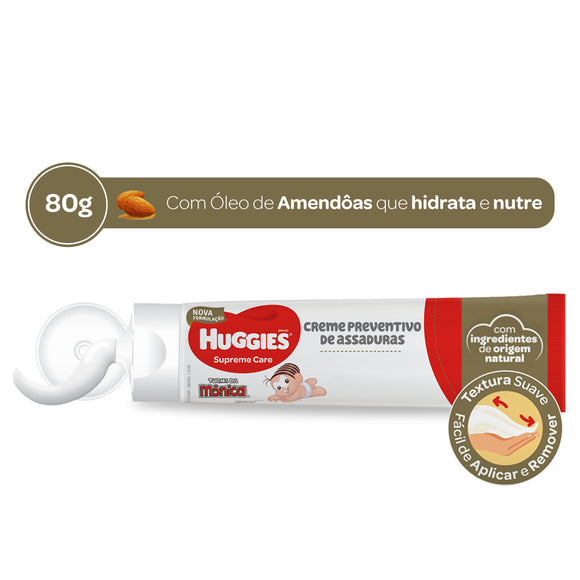 Creme de Assaduras HUGGIES Supreme Care - 80g