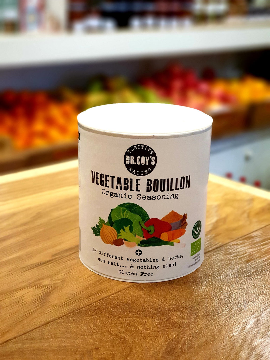 Dr Coy's Organic Vegetable Bouillon 150g