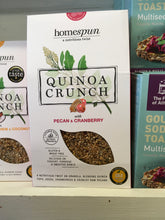 Load image into Gallery viewer, Homespun Quinoa Crunch 275g