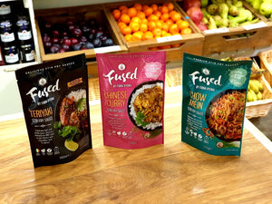 Fused by Fiona Stir Fry Sauces