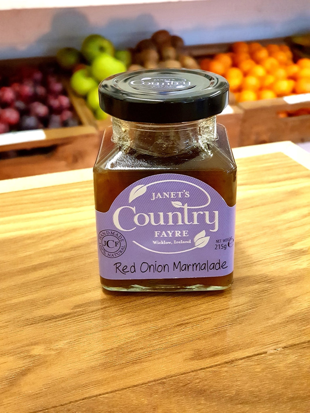 Janet's Country Fayre - Red Onion Marmalade 215g