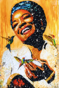 Portrait of Maya Angelou