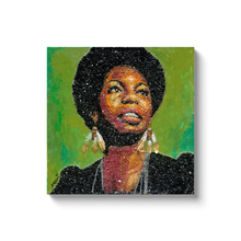 Load image into Gallery viewer, Nina Simone Canvas Wrap