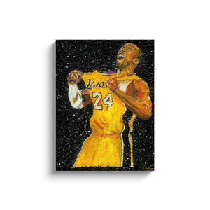 Kobe Bryant Canvas Wrap
