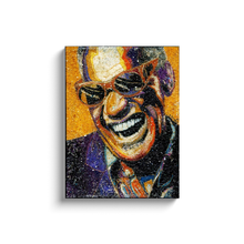 Load image into Gallery viewer, Ray Charles Canvas Wrap