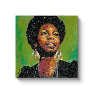 Nina Simone Canvas Wrap