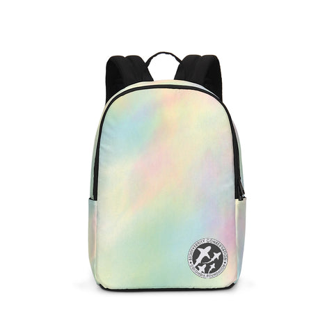 A- Pastel Batik Large Backpack