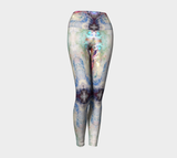 Clouds Print Sky By Nuvula- High-Rise leggings