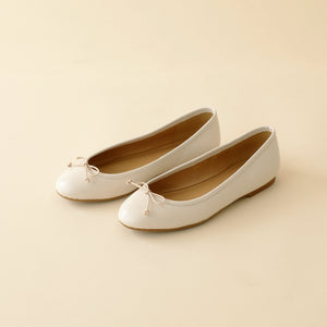 BALLET-SHOES-IVORY By LA POCHE