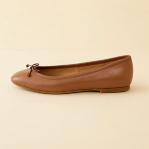 BALLET-SHOES-CAMEL By LA POCHE