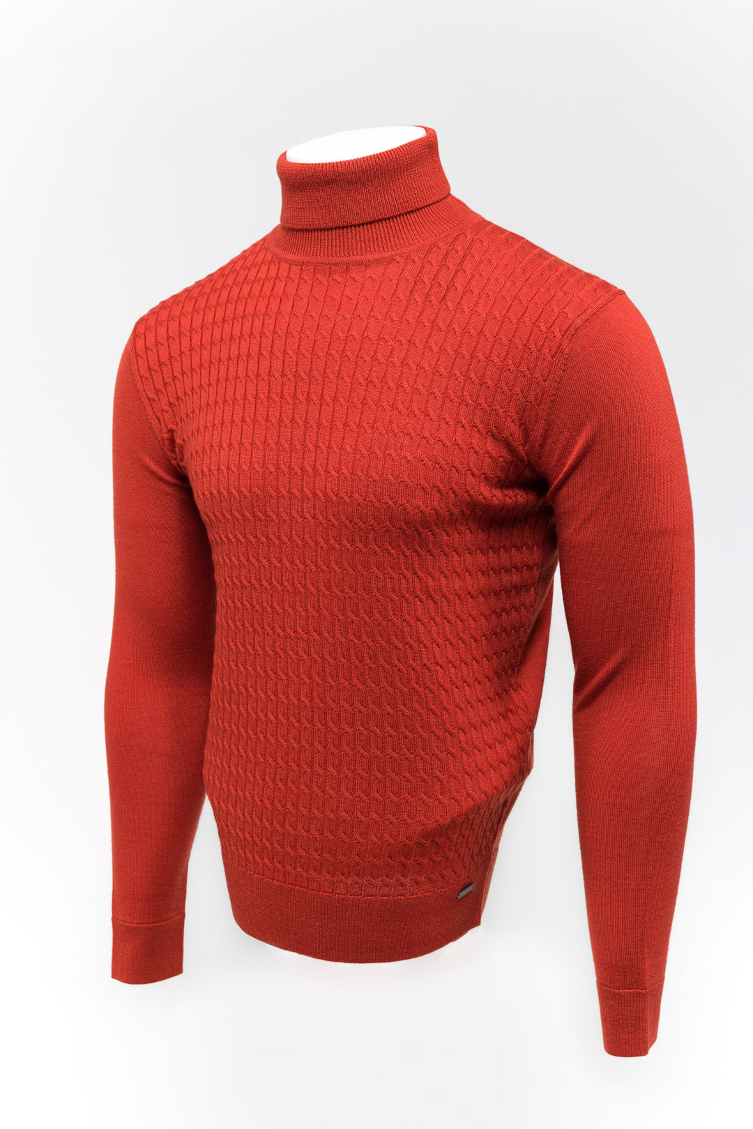 Roll Neck Rood Gentiluomo