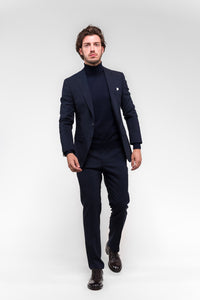 Kostuum Hugo Boss Full Stretch navy
