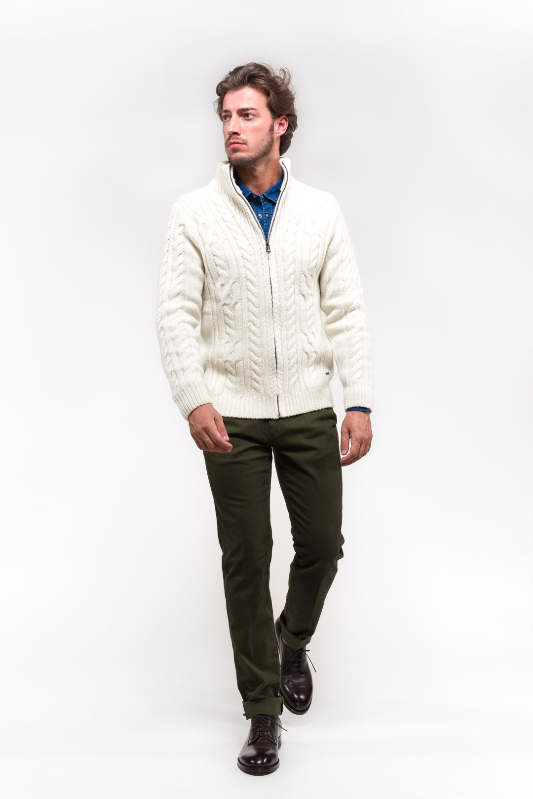 Cardigan off white Joop