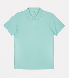Polo Dstrezzed washed Turquoise
