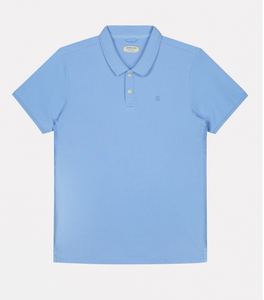 Polo Dstrezzed washed Light blue