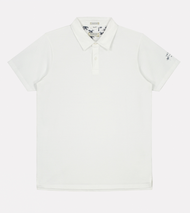 Polo Dstrezzed washed White