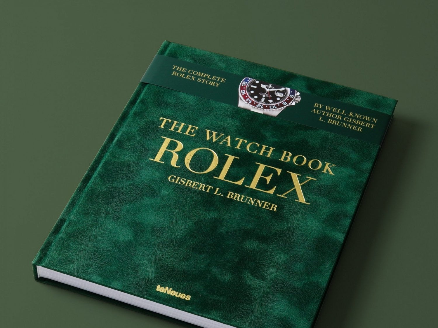 Rolex watch book