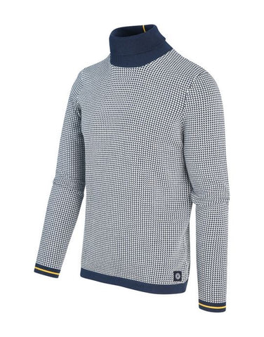 Roll neck blue industry