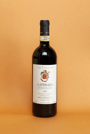 Gattinara DOC, San Francesco - 2011