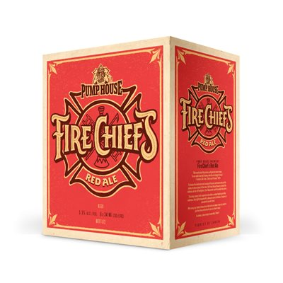 Fire Chief's Red Ale - 341 ml 6 pack bottles