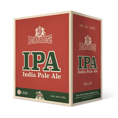 Pump House IPA - 341 ml 6 Pack bottles