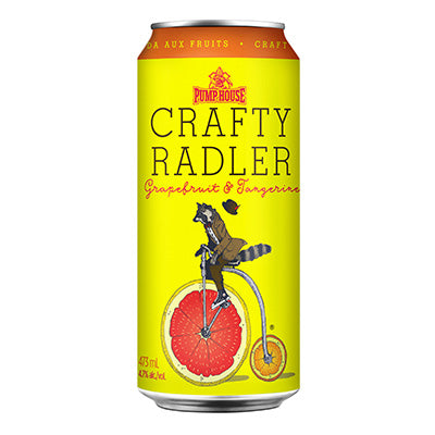 Crafty Radler - Grapefruit & Tangerine - 473 ml cans