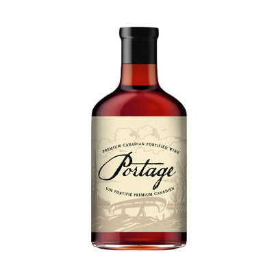 Portage - Canadian Fortified Wine (Port) 375 ml
