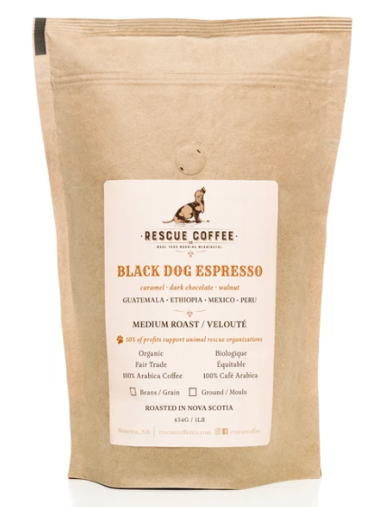 Rescue Coffee - Black Dog Espresso 454g