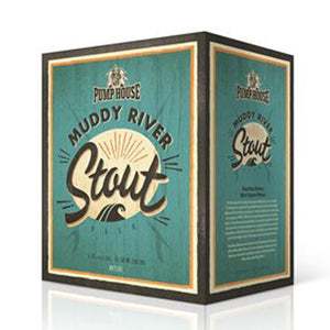 Muddy River Stout - 341 ml 6 pack bottles