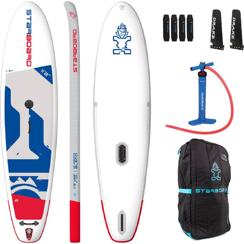 i-SUP Starboard 11'2  Windsurf - Deep Blue Watersports