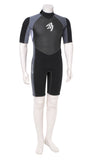 Neopren Shorty Silver/Black 2 mm Men ASCAN - Deep Blue Watersports