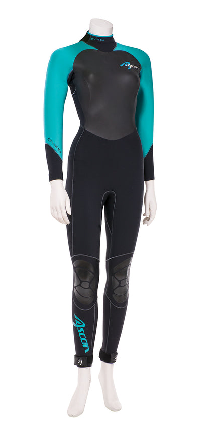 Neoprenanzug Style Comfort 5/4 mm Women ASCAN - Deep Blue Watersports