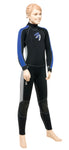 Neoprenanzug Thermo Junior 5/4 mm ASCAN - Deep Blue Watersports