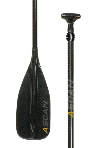 SUP-Paddel ASCAN Carbon 2-teilig - Deep Blue Watersports