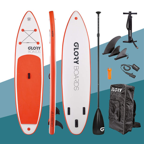 "i-SUP Glory Boards ""Cross 11'0"" orange - Deep Blue Watersports"