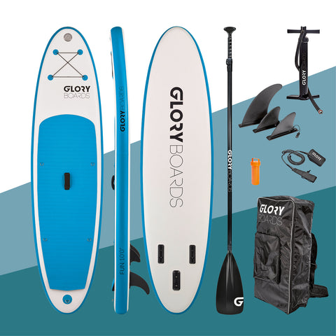 "i-SUP Glory Boards ""Fun 10'0"" blau - Deep Blue Watersports"