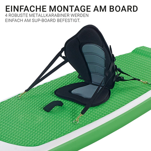 "Glory Boards ""Kajak-Sitz"" mit extra Paddelblatt - Deep Blue Watersports"
