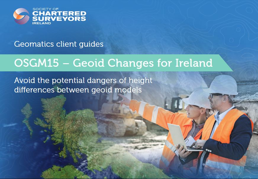 OSGM15 – Geoid Changes for Ireland