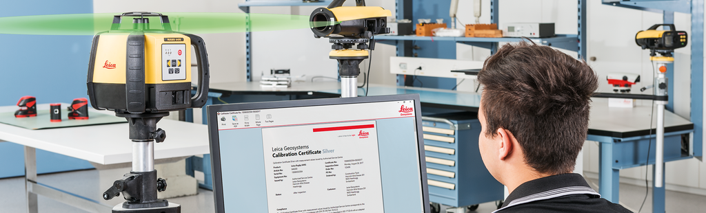 LES Workshop | Leica Certified - Levelling Equipment Services