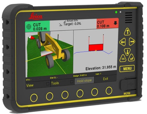 Leica iCON iGG4 - 3D Grader System