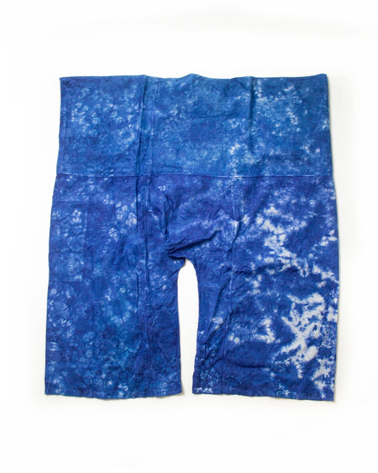 Blue fisherman pants