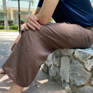 Brown Thai fisherman pants