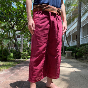 Thai wrap trousers