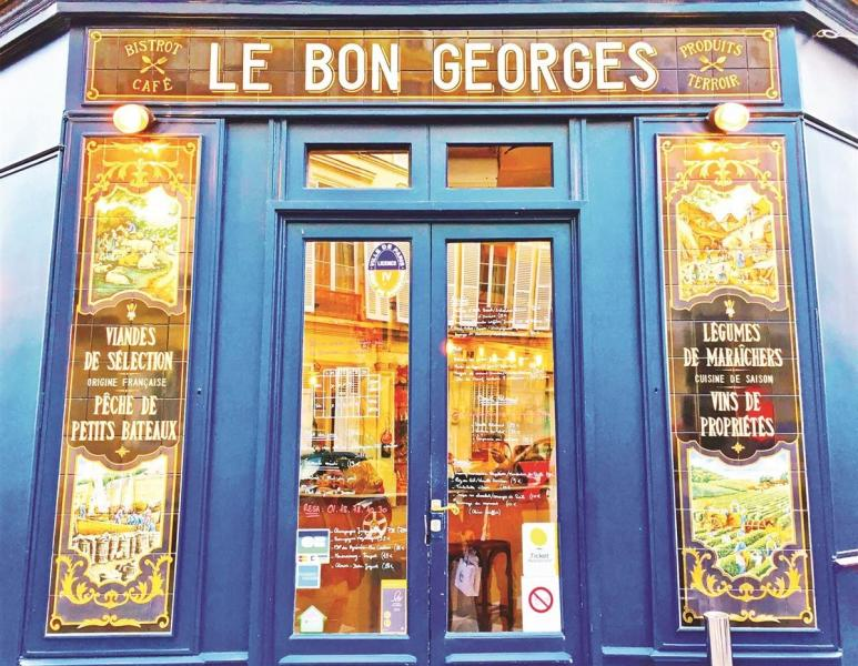 PUZZLE-CAFE LE BON GEORGES 500PCS