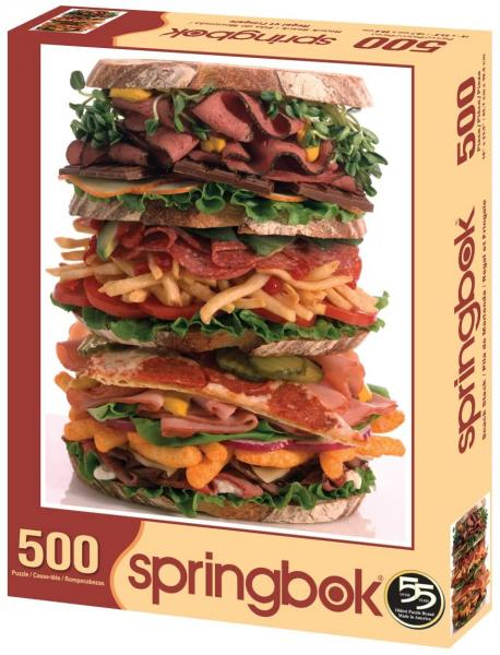 PUZZLE- SNACK STACK 500PCS