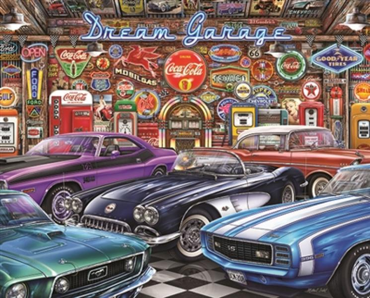 PUZZLE-DREAM GARAGE 1000PC
