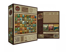 Load image into Gallery viewer, PUZZLE- NATIONAL PARKS PATCHES 500 PCS