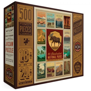 PUZZLE- NATIONAL PARKS - MOOSE 500 PCS